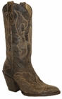 Star Boots for Women Chocolate El Paso Leather High Heel Boots W6001