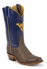 West Virginia University Mountaineers Womens Officially Licensed Boots by Nocona LDWV22