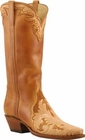 Womens Lucchese Classics Hand Tooled Leather Custom Hand-Made Western Boots L4657