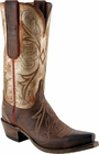 Womens Lucchese Since 1883 Chocolate Burnished Mad Dog Goat N4701