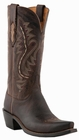 Womens Lucchese Since 1883 Chocolate Madras Goat M5002