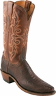 "Women's Lucchese ""Jane"" Chocolate Burnished Ostrich Leg* Boots N4064"