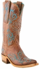 Womens Lucchese Since 1883 Peanut Brittle Burnished Mad Dog Goat N4746