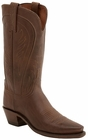 """Womens Lucchese """"Amberle"""" Tan Burnished Ranch Hand Boots N4604"""