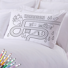 Add Color Kids Neighbor Custom Pillowcase