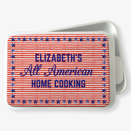 All American Personalized Cake Pan