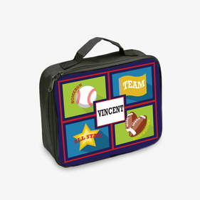 All Star Sports Personalized Lunch Tote