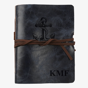 Anchor Custom Genuine Leather Antique Wrap Journal