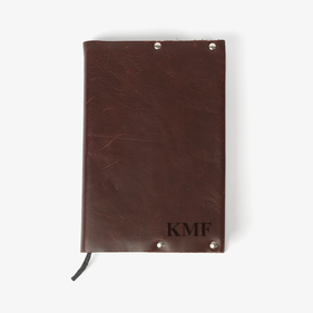 Authentic Leather Personalized Bible Cover