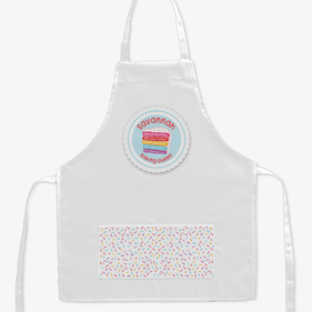 Baking Queen Personalized Kids Apron