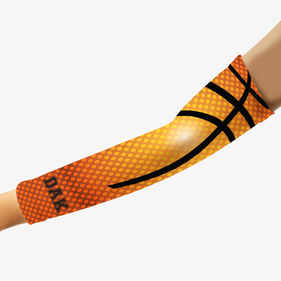 Basketball Inspired Personalized Sports Arm Sleeve