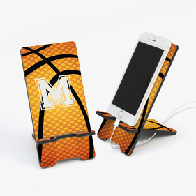 Basketball Personalized Cell Phone Stand