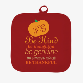 Be Thankful Personalized Pot Holder