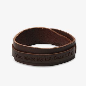 Custom Genuine Leather Bracelet