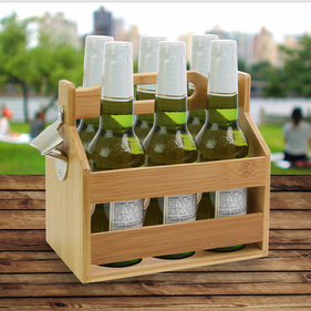 Beverage Caddy w/ Bottle Opener