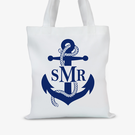 Anchor Monogram Tote Bag
