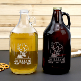 Buck Head Custom Name Beer Growler
