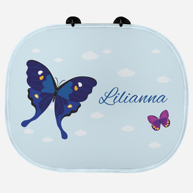 Custom Butterfly Name Sunshade