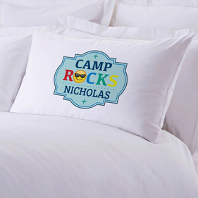 Camp Rocks Personalized Pillowcase