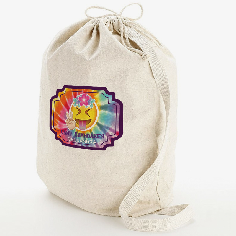 Custom Gifts Camp Shandaken Laundry Bag W Shoulder