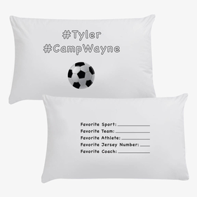 #CampWayne Sports Personalized Pillowcase