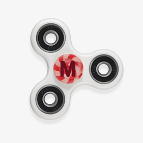Candy Initial Custom Fidget Spinners