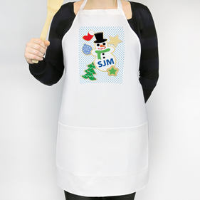 Christmas Cookies Custom Adult Apron