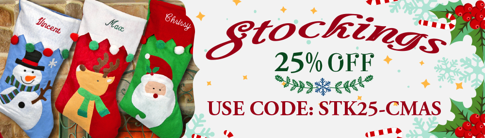christmas stockings use code stk25cmas for 25 off