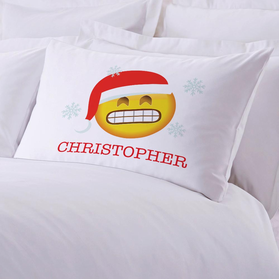 Cold Emoji Personalized Pillowcase