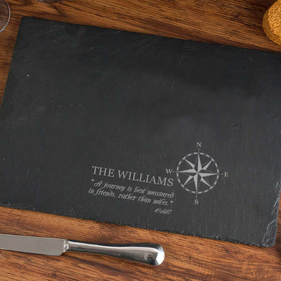 Compass Design Custom Slate Pad
