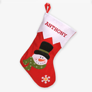 Cool Custom Snowman Christmas Stocking
