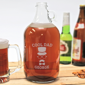 Cool Dad Personalized Beer Growler