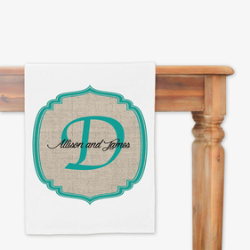Couples Personalized Table Runner