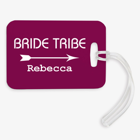 Custom Bride Tribe / Flower Girl Luggage Tag