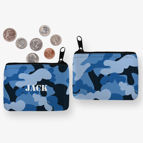 Custom Camouflage Coin Purse