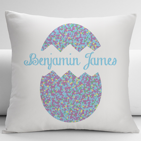 Custom Easter Egg Decorative Cushion Cover