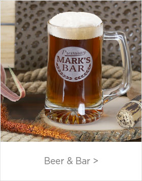 Custom Father's Day Beer & Bar Gifts