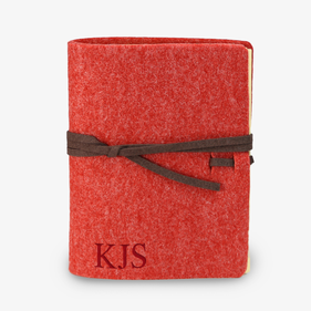 Custom Felt Wrap Medium Journal