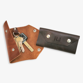 Custom Genuine Leather Key Holder