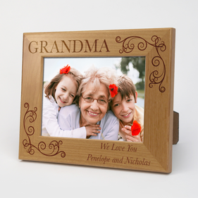 Custom Grandma Wood Picture Frame