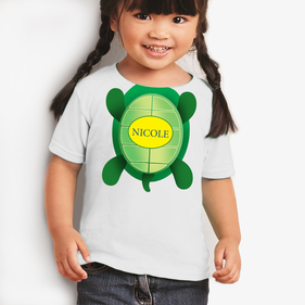 Custom Kids Turtle T-Shirt
