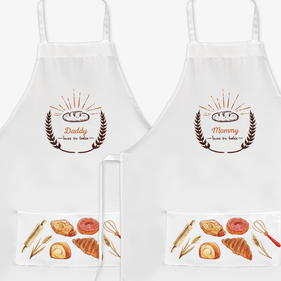 Custom Loves to Bake Adult Apron
