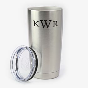 Custom Monogram Steel Vacuum Insulated Large Tumbler