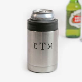 Custom Monogram Vacuum Insulated Beverage Holder