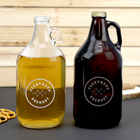 Custom Name Brewery Beer Growler