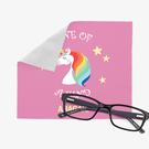 Custom Rainbow Unicorn Eye Glasses Cleaning Cloth