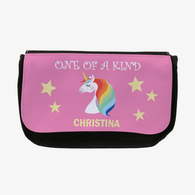 Custom Rainbow Unicorn Pencil Case