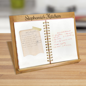 Custom Recipe Book or Ipad Stand