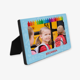 Custom Crayons Photo Hardboard Picture Frame
