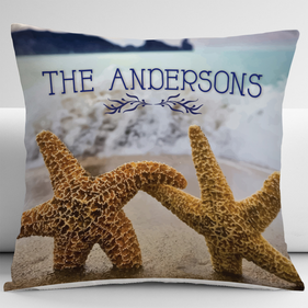 Custom Starfish Decorative Cushion Cover